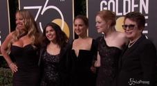 Golden Globe 2018: il red carpet si tinge di black