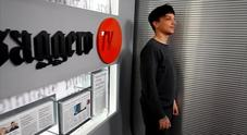 Ultimo ospite al Messaggero Tv: il backstage