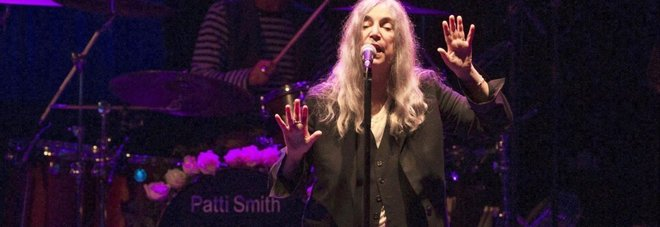 Da Patti Smith omaggio a Roma: la sacerdotessa del rock arriva all'Opera