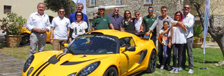 """Lotus Loves Umbria"", motori e buon cibo protagonisti in una serie tv su Sky"